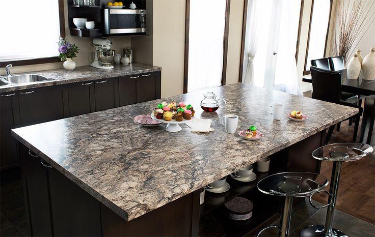 Typhoon Ice Laminate Countertop Kitchen Designes